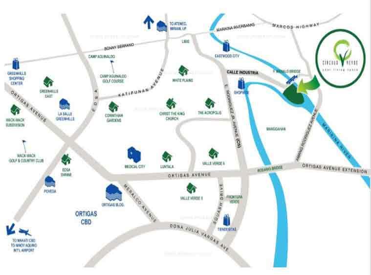 Circulo Verde Location