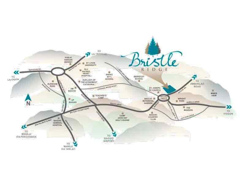 Bristle Ridge Location