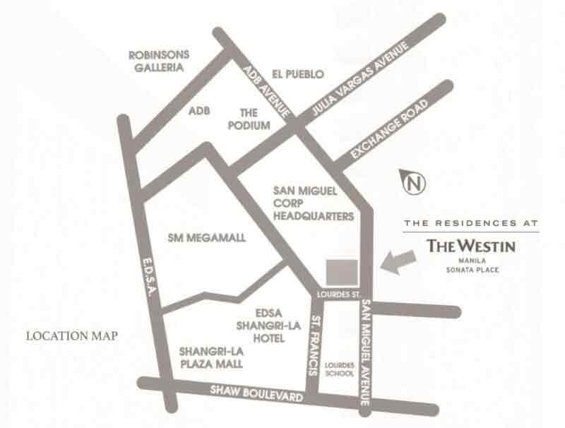The Residences at The Westin Location