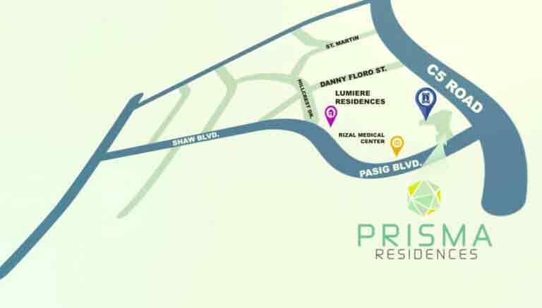 Prisma Residences Location