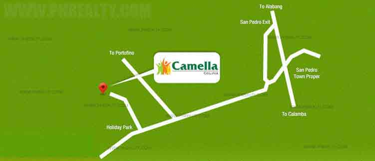 Camella Colina Location