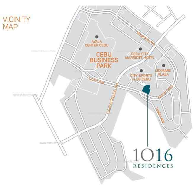 1016 Residences Location
