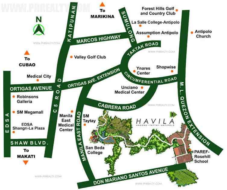 Anila Park Location
