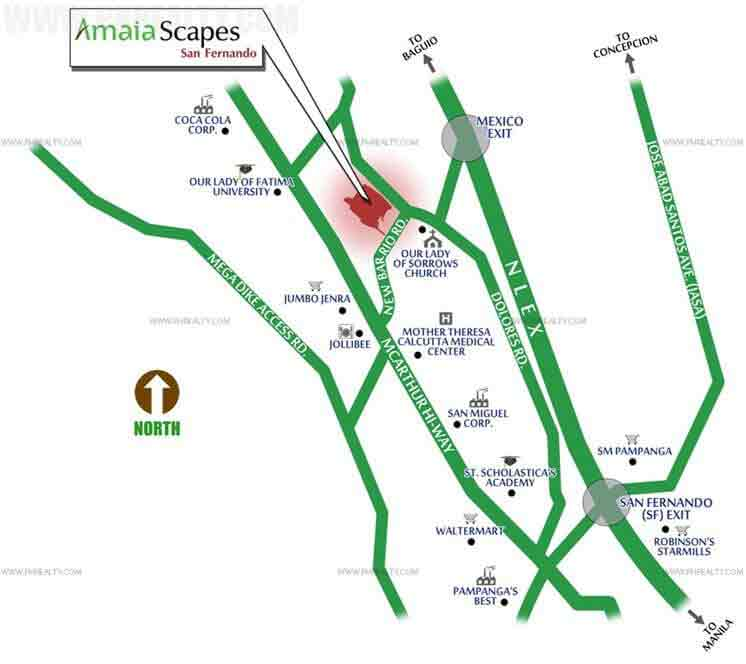 Amaia Scapes San Fernando Location