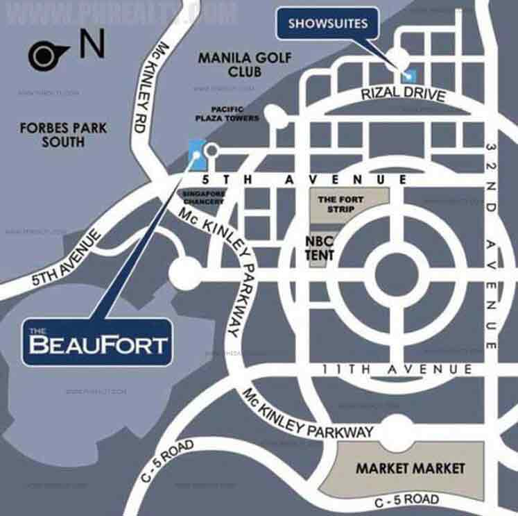 The Beaufort Location