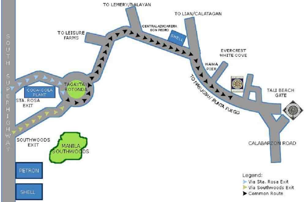 Location Address Of Landco Terrazas De Punta Fuego