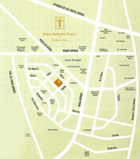 Paseo Parkview Suites Location