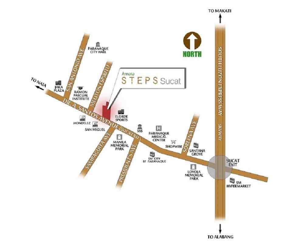 Amaia Steps Sucat Location
