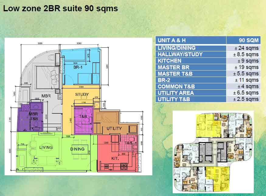Low Zone 2 BR Suite