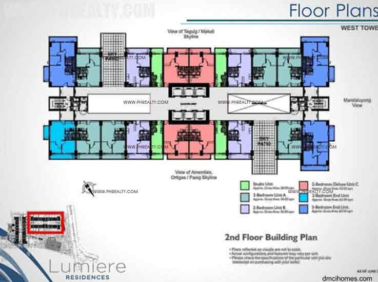 West Tower 2nd Floor Building Plan