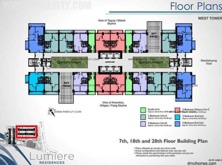 West Tower Floor Plan