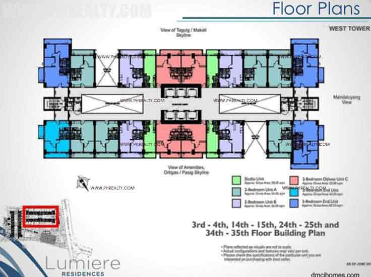 West Tower Typical Floor Plan