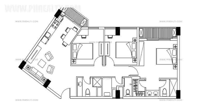 Three Bedroom Plan B