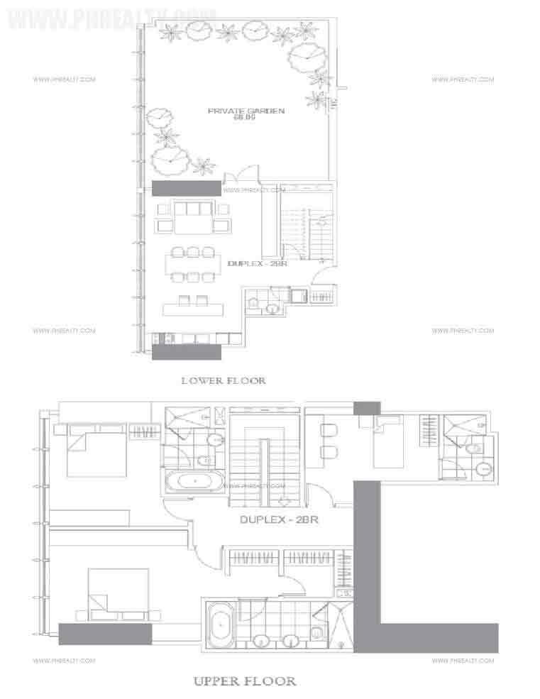 Two Bedroom Duplex