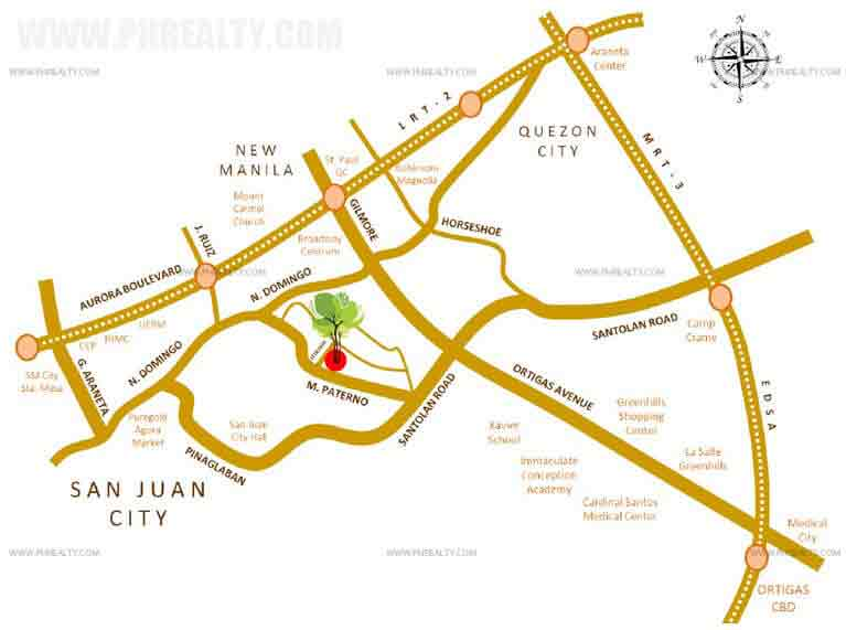 Mango Tree Residences Location