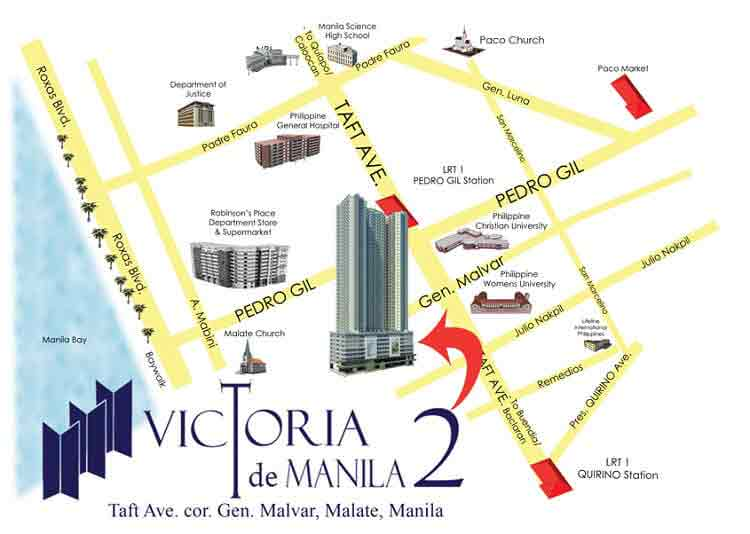 location address of new san jose builders victoria de manila 2