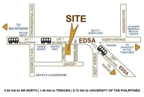 North Residences Location