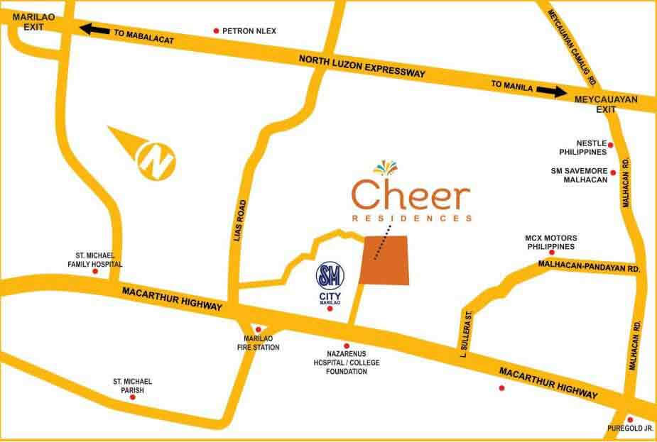Cheer Residences Location