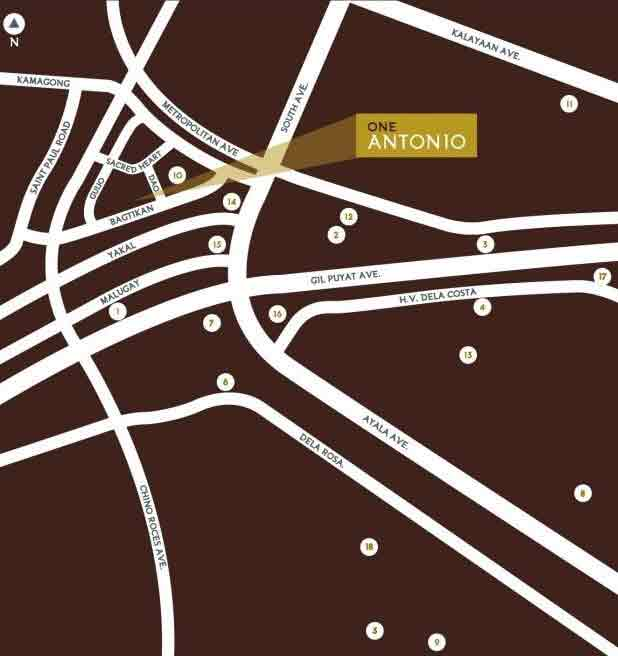 One Antonio Location