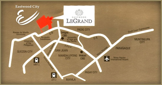 Le Grand Towers Location