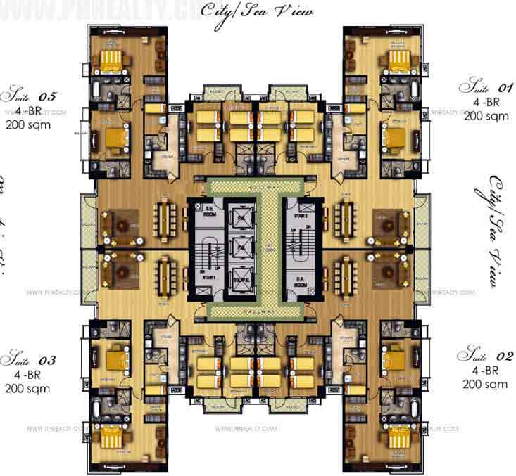 28th To 29th Floor Plan