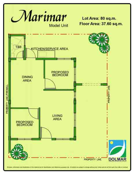 Marimar Floor Plan