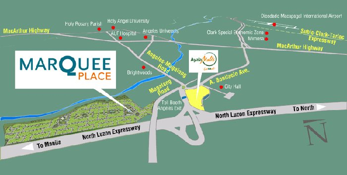 Marquee Place Location