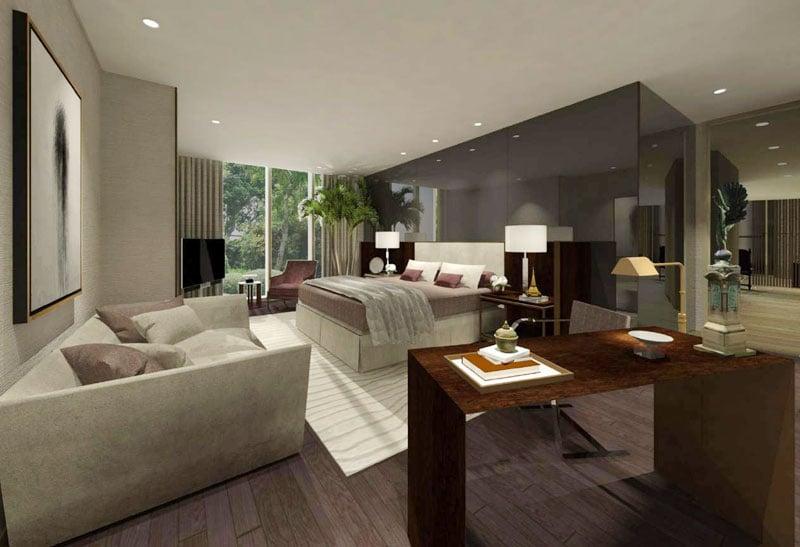 3 BR Gallery Villa - Master Bedroom