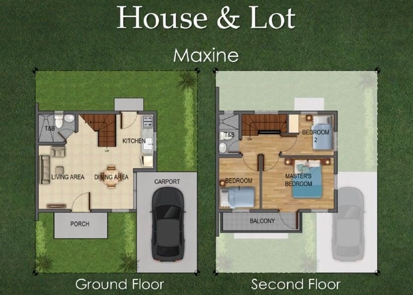 Maxine Floor Plan