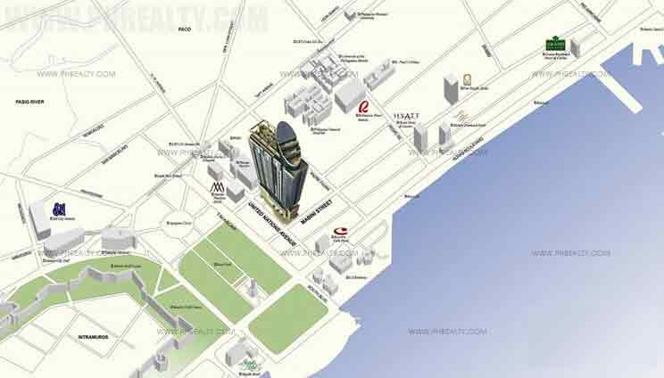 Mayfair Tower Location