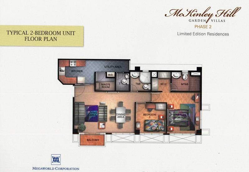 2 Bedroom- Floor Plan
