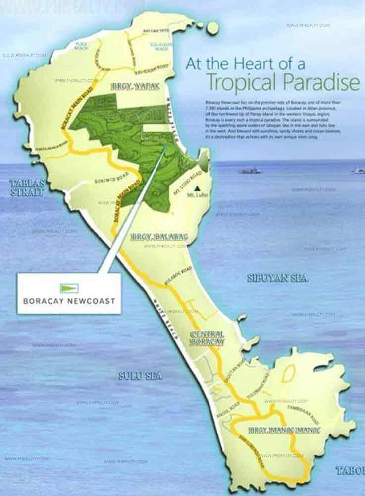 Boracay New Coast Location