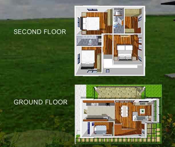 Meranti Floor Plan