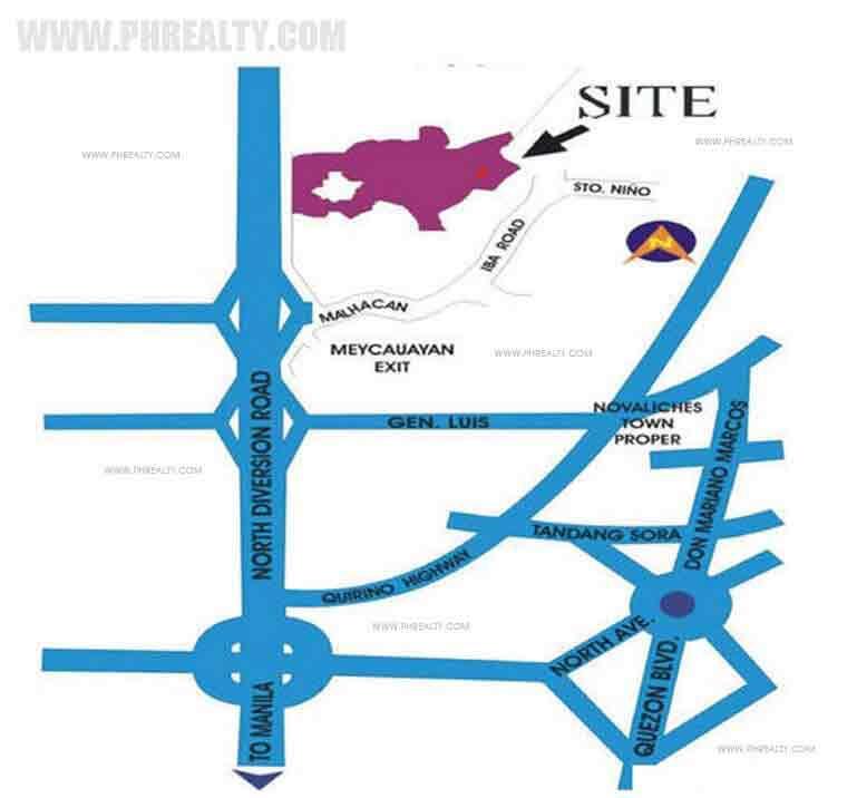 Metrogate Complex Location