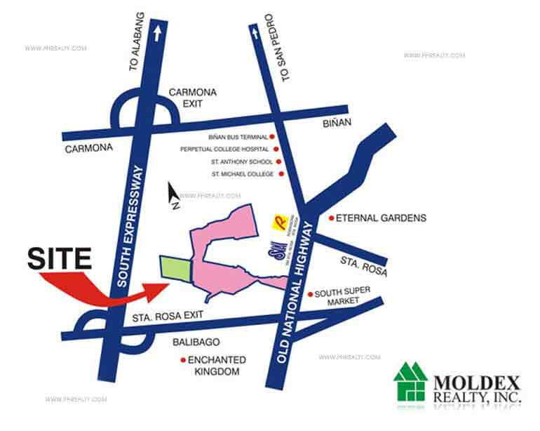 Metrogate Santa Rosa Location