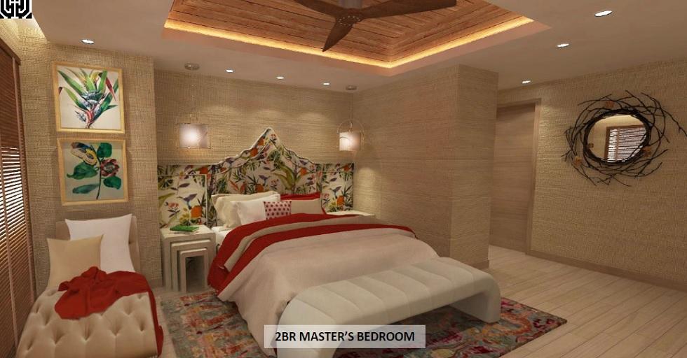 2 BR Master's Bedroom