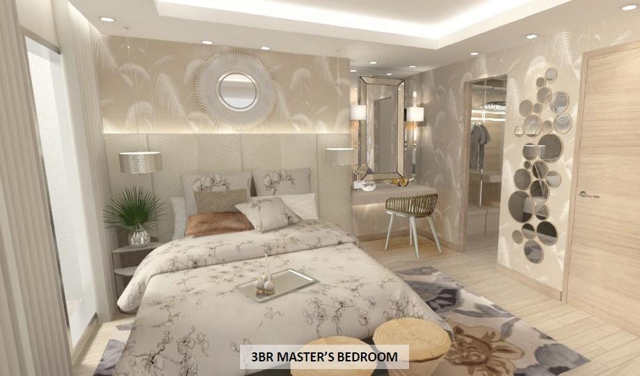 3 BR Master's Bedroom