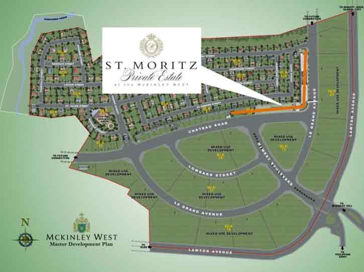 St. Moritz Private Estate Location