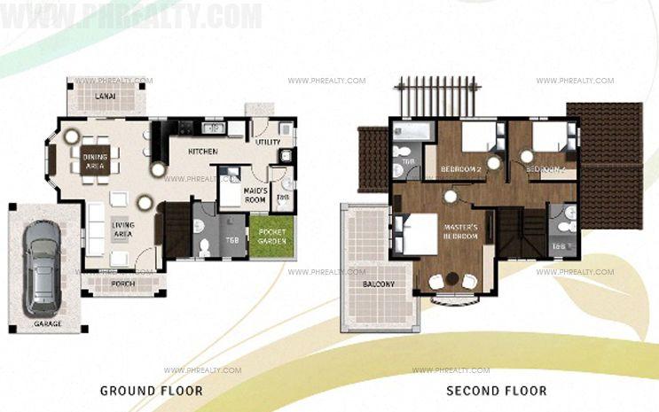 Murano Floor Plan