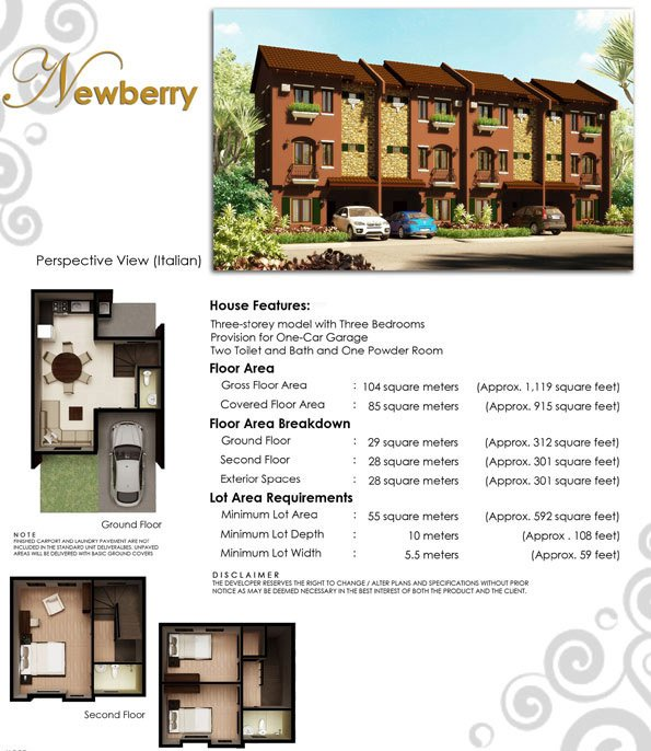Newberry Floor Plan