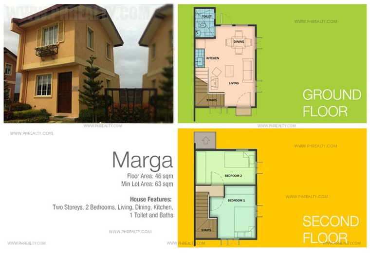 Marga House Floor Plan