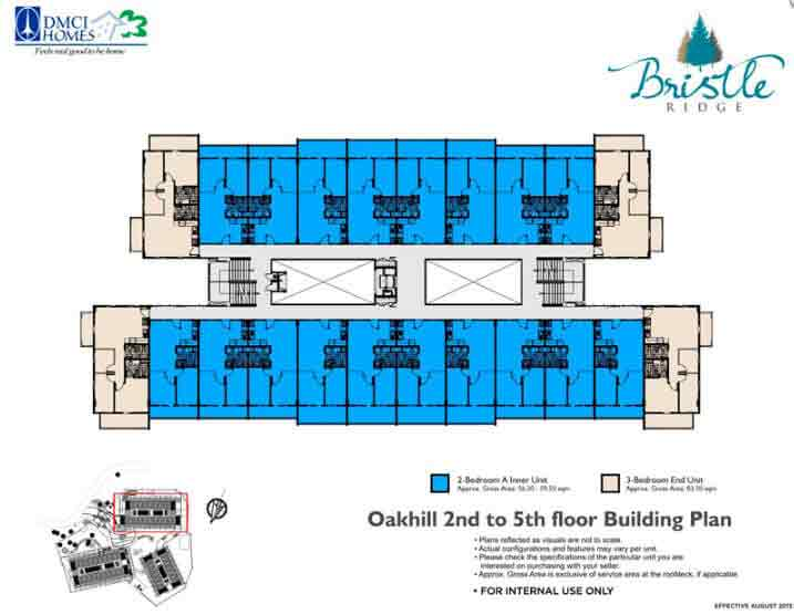 Oakhill 2nd to 5th Floor Building Plan
