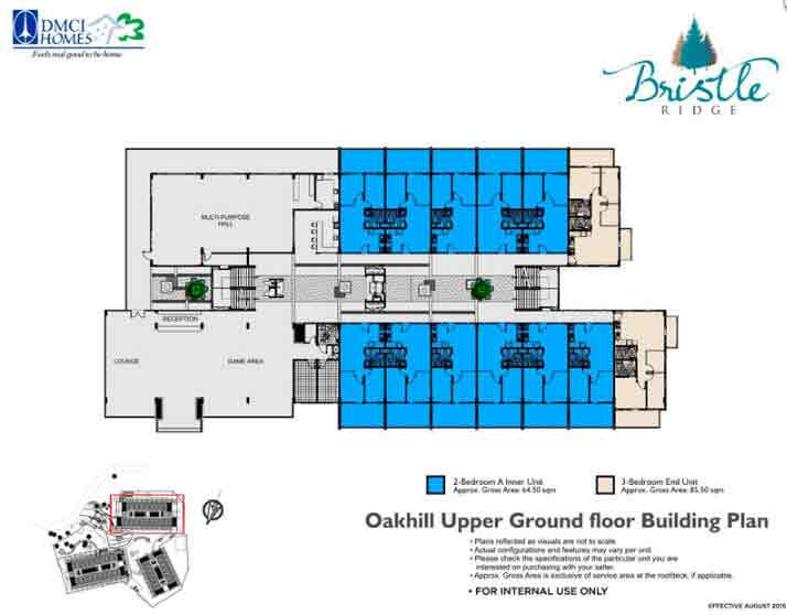 Oakhill Upper Ground Floor Building Plan