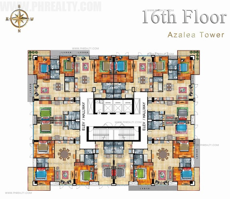 16th Floor Plan