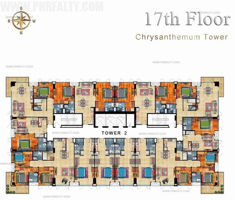 17th Floor Plan