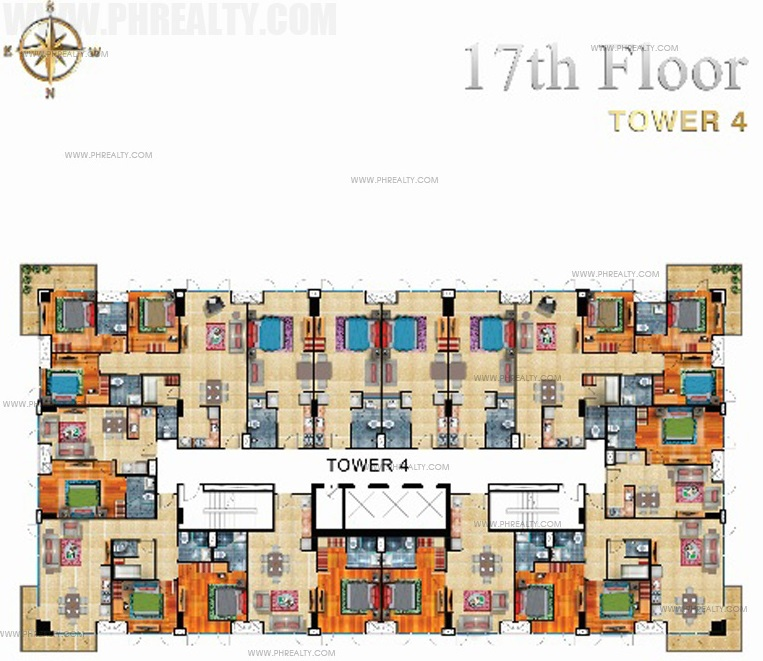17th Floor Plan