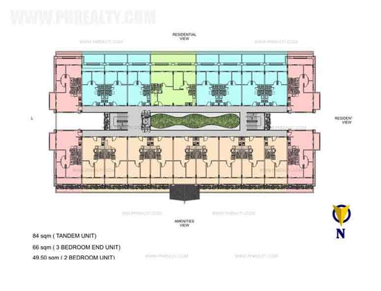 Typical Building Plan-2nd-5th Floor
