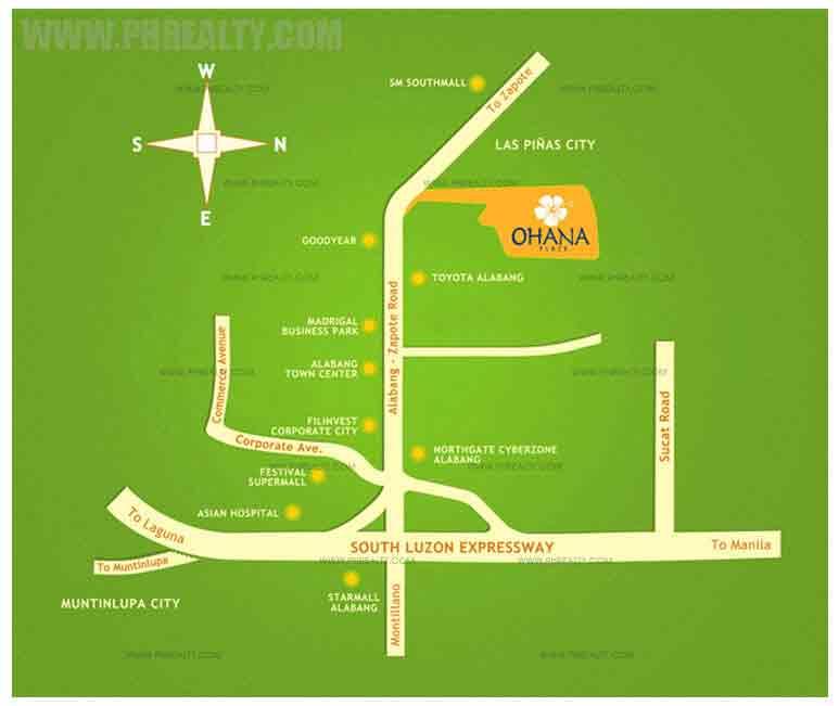 Ohana Place Location