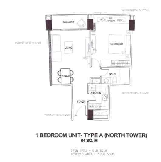 1 Bedroom Unit - Type A