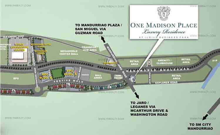 One Madison Place Luxury Residence Location